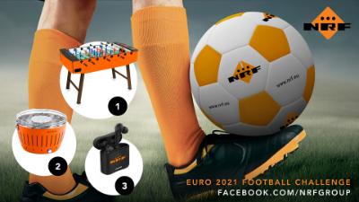 NRF - EURO 2021 football juggling challenge